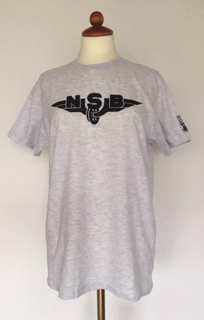T skjorte grå NSB – Norsk Jernbanemuseum